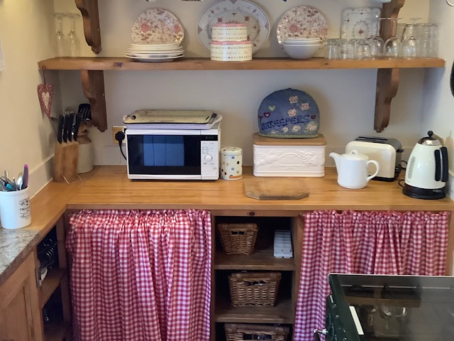 Kitchen at Innkeepers Cottage