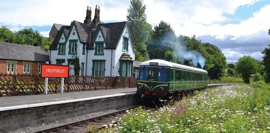 Weardale Railway at Frosterley (Weardale-Railway.org.uk)