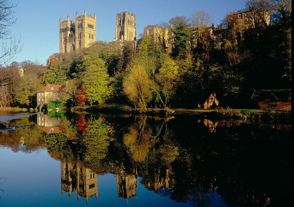 Durham Cathedral & Fulling Mill (© graeme-peacock.com)