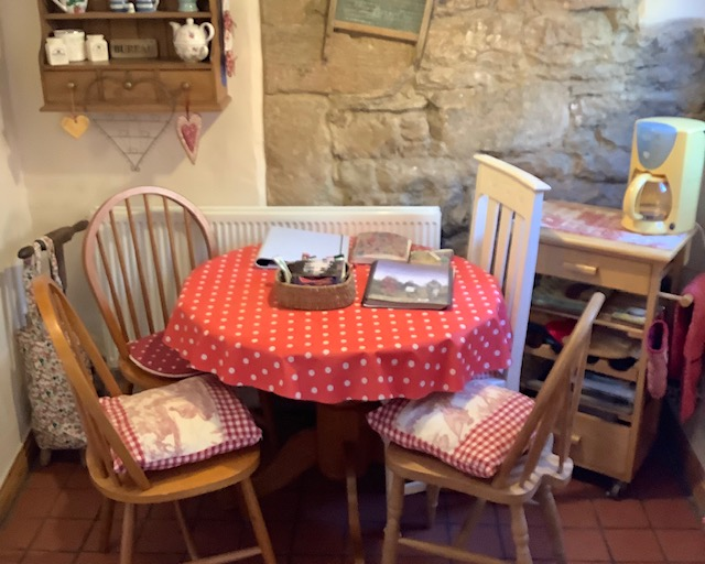 Dining area at Innkeepers Cottage