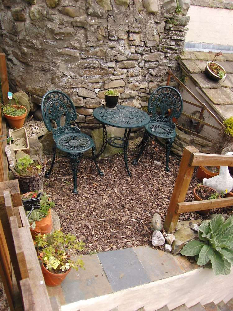 Garden at Innkeepers self-catering cottage