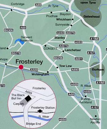 Frosterley, in Weardale, County Durham